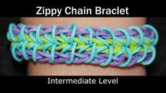 sandylandya@outlook.es  Rainbow Loom® Zippy Chain Bracelet