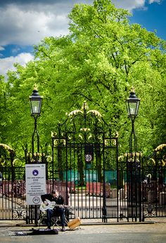 In Greenwich Park staan heel wat Au Pair stapjes