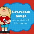 Cute printable about Patriotic Songs. You will have the most loved American Songs and Poetry along with the lyrics and fun activities. Word Search,...