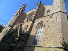 Santa María del Mar... barrio gótico de Barcelona
