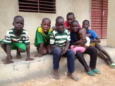 Compassion international kids in Burkina Faso, Wes Africa.
