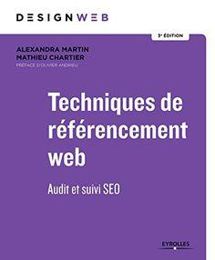 Techniques de référencement web: Audit et suivi SEO. Préf... https://www.amazon.fr/dp/2212676077/ref=cm_sw_r_pi_dp_U_x_fhYyBbA3346C4