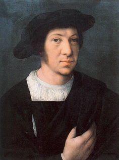 Орлей Барент ван Barend van Orley (1488/1492 — 1541/42) Portrait of a Man (Galleria degli Uffizi, Florence)