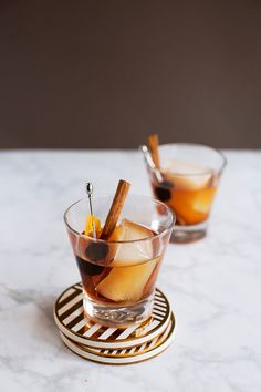 Smoke and Cinnamon Old Fashioned