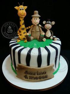 Safari cake by Mirella Rodrigues