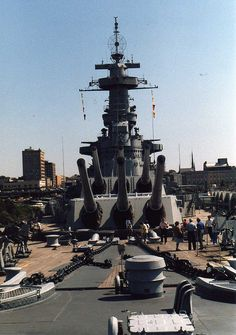 USS North Carolina; in operation from October 1937 to June 1947 and earned numerous awards for it's engineering during wartime. It was dedicated as a memorial in Wilmington, NC in 1962.