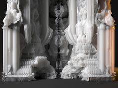digital grotesque: full-scale 3D printed room realized - designboom | architecture & design magazine