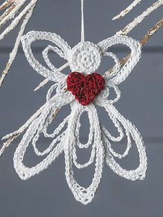 What's New - Crochet - Delicate Angel Ornament Pattern