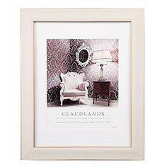 Claudlands Frame White 11 x 14 (8 x 10)