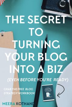 Want to turn your blog into a biz and start monetizing it? How are some blogs able to take it to the next level while others struggle in the process? In this post I give you tips on 5 main considerations that will help you turn your blog into a biz before you're even ready.