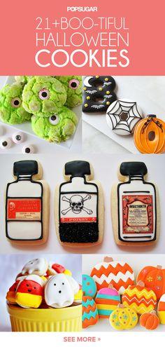21 Boo-tiful Halloween Cookies