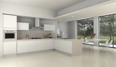Ceramica Sant'Agostino, Concrete White, virtual image, rendered with DomuS3D and mental ray