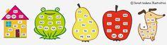Tanti giochi divertenti da stampare, ritagliare, incollare e colorare per bambini intraprendenti, ideati da Giuliana Donati. Eccoci ad una nuova attività p