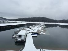 Norris Lake Boats Suffer Winter Damage During Storm