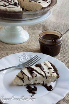 No Bake Peanut Butter Mousse Pie  Shared on https://www.facebook.com/LowCarbZen