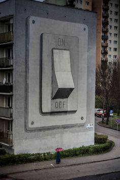 Questi artisti di strada sono completamente liberi nella loro arte. Il mondo intero è una grande tela in cui possono esprimersi con la loro street art.