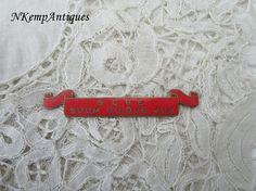 Antique enamel component