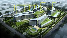 The Shanghai New Hongqiao International Medical Center by Gresham, Smith and Partners. New entry for the WAN Healthcare Award 2014
