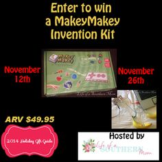 MakeyMakey Invention Kit #Giveaway - MakeyMakey is a product to help people of all ages become inspired to explore their creativity, imagination, and inventiveness.