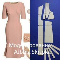 Как Вам это симпатичное платье? Мне очень понравились подрезы с драпировкой под грудью , рельефы и волан по низу юбки. По- моему, очень симпатично! Как Вы думаете? #АльбинаСкрипка #шитье #урокишитья #шьюсама #шитьеикрой #HauteCouture #учушить #шитьлегко #учимсяшить #занятияпошитью #научитьсяшить #кройишитьеснуля #шитьедляначинающих #учушить #люблюшить #шитьеодежды #курсышитья