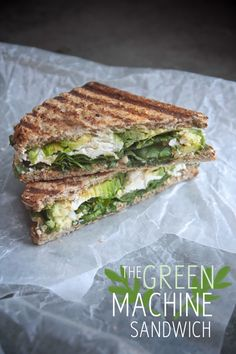 Veggie Sandwich - Goat Cheese, Avacado, Cilantro, Hummus, Fresh Spinach