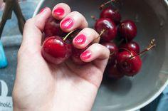 kizikuki: Serniczki z mascarpone, serkiem waniliowym, czereś...