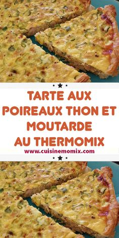 Tart Recipes, Pizza Recipes, Beef Recipes, Dinner Recipes, Cooking Recipes, Leek Pie, Sicilian Recipes, Sicilian Food, Thermomix Desserts