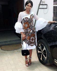 Ankara Simple Gown Styles Combinations - DeZango Fashion Zone