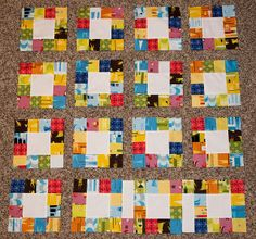 Pattern Testing_Lucky Squares Quilt by Pitter Putter Stitch, via Flickr