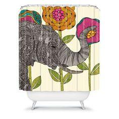 DENY Designs Valentina Ramos Aaron Fabric Shower Curtain