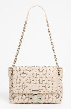 Lustworthy. MARC JACOBS  Perforated Leather Crossbody Bag