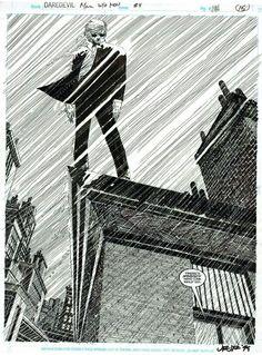 Daredevil by John Romita, Jr. and Al Williamson
