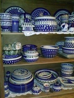 My polish pottery collection.
