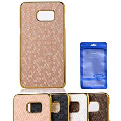 Galaxy Note 5 Case, Sophia Shop Thin Ultra Slim Premium PU Leather Hard PC Bumper Anti-scratch Shockproof Cover For Samsung Galaxy Note 5 (Gold)