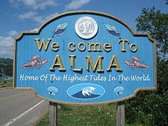 Village of Alma, New Brunswick. Gateway to Fundy National Park. Neat little town. Places To See, Places Ive Been, East Coast Road Trip, High Tide, New Brunswick, Summer Travel, Wonderful Things, Spaces, World
