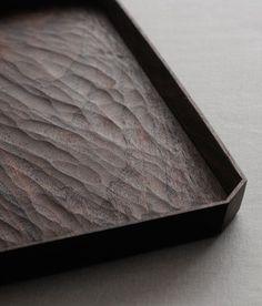 Chiselled tray   Yoshiyuki Kato