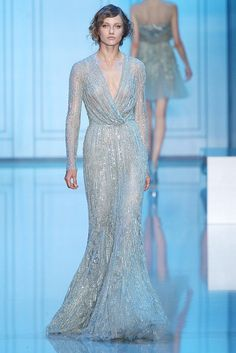 I can't stop loving Elie Saab's fall couture collection,...