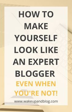 If you don't want to look like a new blogger, click through to learn how to make yourself look like an expert blogger - even when you're not! | How to look like a professional blogger | Successful bloggers | Blogging tips | Advice for new bloggers Make Money Blogging, How To Make Money, Blogging Ideas, Best Blog Designs, Stock Photo Websites, Social Share Buttons, Blog Names, Blog Topics, Free Blog