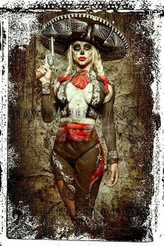 Los Muertos Tattoo, Day Of The Dead Artwork, Chicano Love, Catrina Tattoo, Skull Girl Tattoo, Cholo Art, Beautiful Dark Art, Sugar Skull Art, Sugar Skulls