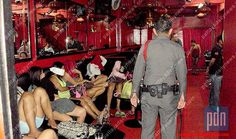 Police Conduct Prostitution Raid at Mandarin Bar in Soi 6 Pattaya - Pattaya Daily News