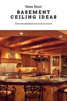 Plafond sous-sol basement ceiling #basementceiling #painted #ideas Exposed Basement Ceiling, Basement Ceiling Painted, Basement Ceiling Options, Ideas, Home Decor, Sous Sol, Decoration Home, Room Decor, Home Interior Design
