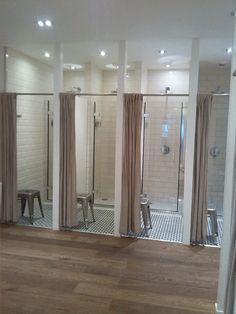 This unisex bathroom design - catchy decorated bathroom ideas with 74 bathroom decorating ideas designs amp decor. Locker Room Shower, Deco Spa, Bunk Bed Rooms, Girl Bathrooms, Gym Interior, Interior Ideas, Hostel, House Plans, Unisex Bathroom