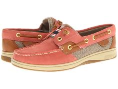Sperry Top-Sider Rainbow Slip-on Boat Shoe Wahsed Red - Zappos.com Free Shipping BOTH Ways