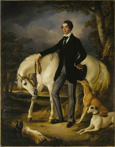 Portrait of a Young Man, George Osbaldeston, Mid-19th Century by Sir Francis Grant (1803-1878)