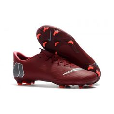 wholesale dealer 8c2a7 99d83 All new stock of Nike Mercurial Vapor XII Pro FG Football Boots - Team  Red Metallic Dark Grey Bright Crimson Stores, Sandals and clogs at Nike  Soccer Cleats ...