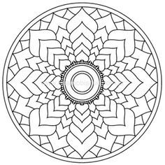 Flower Of Life Mandala Coloring Page From Pattern Category Select