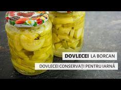 Dovlecei pentru iarnă la borcan | Bucate Aromate - YouTube Snack Recipes, The Creator, Chips, Youtube, Canning, Romanian Food, Salads, Snack Mix Recipes, Appetizer Recipes