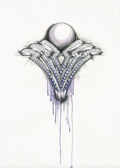 Old Jewelry, Gems Jewelry, Gothic Jewelry, High Jewelry, Sea Glass Jewelry, Photo Jewelry, Jewelry Art, Antique Jewelry, Jewelery