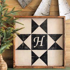 Image of Monogrammed Barn Quilt