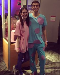 Sully and Boo couples costume!